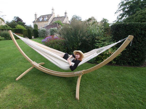 Amazonas Paradiso Family Hammock with Wooden Stand  - Cool Hammocks