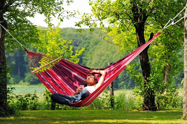 Amazonas Samba Single Hammock with Spreader Bar  - Cool Hammocks