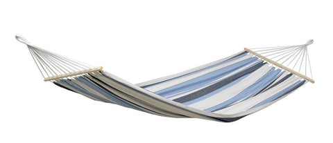 Amazonas Samba Single Hammock with Spreader Bar Marine - Cool Hammocks