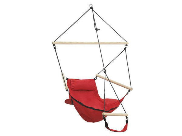 Amazonas Swinger Hanging Chair Red - Cool Hammocks