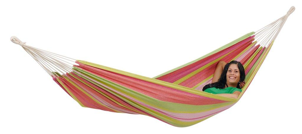Amazonas Tahiti Single Hammock Bubblegum - Cool Hammocks