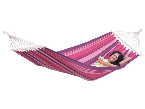Amazonas Tonga Single Hammock with Spreader Bar Candy - Cool Hammocks