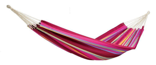 Amazonas Barbados Double Hammock with Wooden Stand | Hammock Set Grenadine - Cool Hammocks