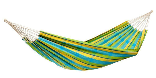 Amazonas Barbados Double Hammock with Wooden Stand | Hammock Set Lemon - Cool Hammocks