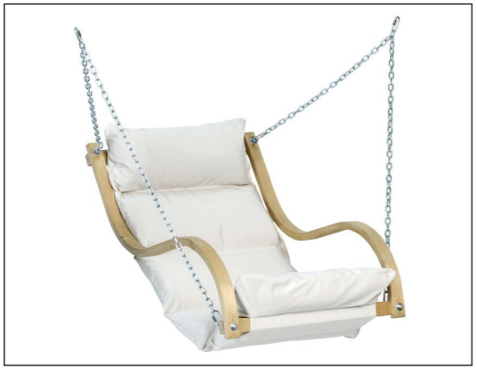 Amazonas Fat Chair with Taurus Wooden Stand  - Cool Hammocks