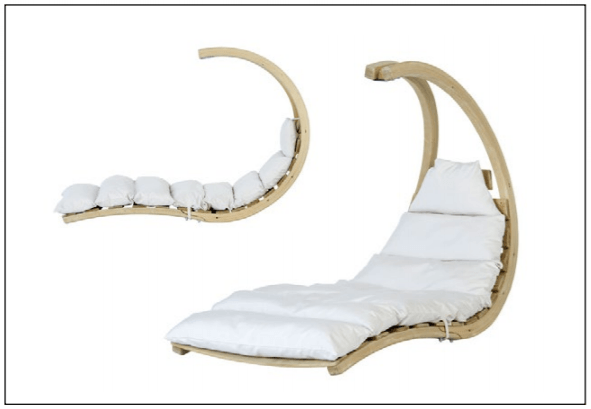 Amazonas Swing Lounger Creme - Cool Hammocks