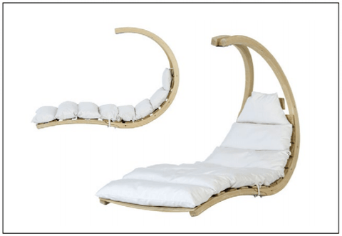 Swing Lounger Creme - By Amazonas - Cool Hammocks