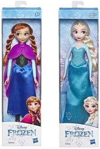 E5512 Anna and Elsa Frozen Doll Set, Multi