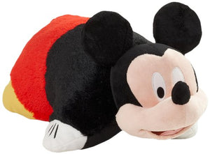 "Pillow Pets® - Mickey Mouse - Authentic Disney® 18"" Large Folding Plush Pillow"