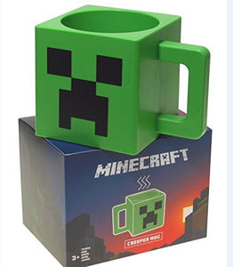 Minecraft 7652 Creeper Mug Minecraft - 250ml - Plastic Coffee Mug - Green