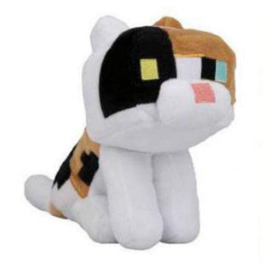 JINX 9294 Minecraft Calico Cat Plush Black