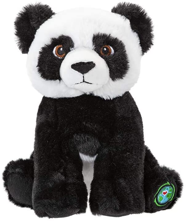 "Your Planet 9"" Eco Plush Teddy Bear Panda,  Made from 100% Recycled Plastic"