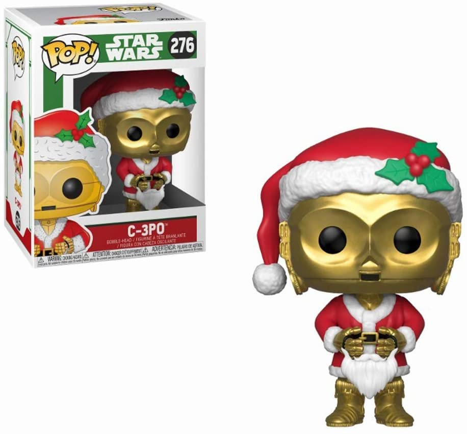 POP! Bobble: Star Wars: Holiday Santa C-3PO