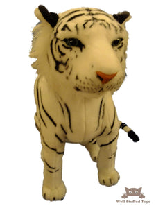 Deluxe Paws Large White Tiger Sitting 60cm