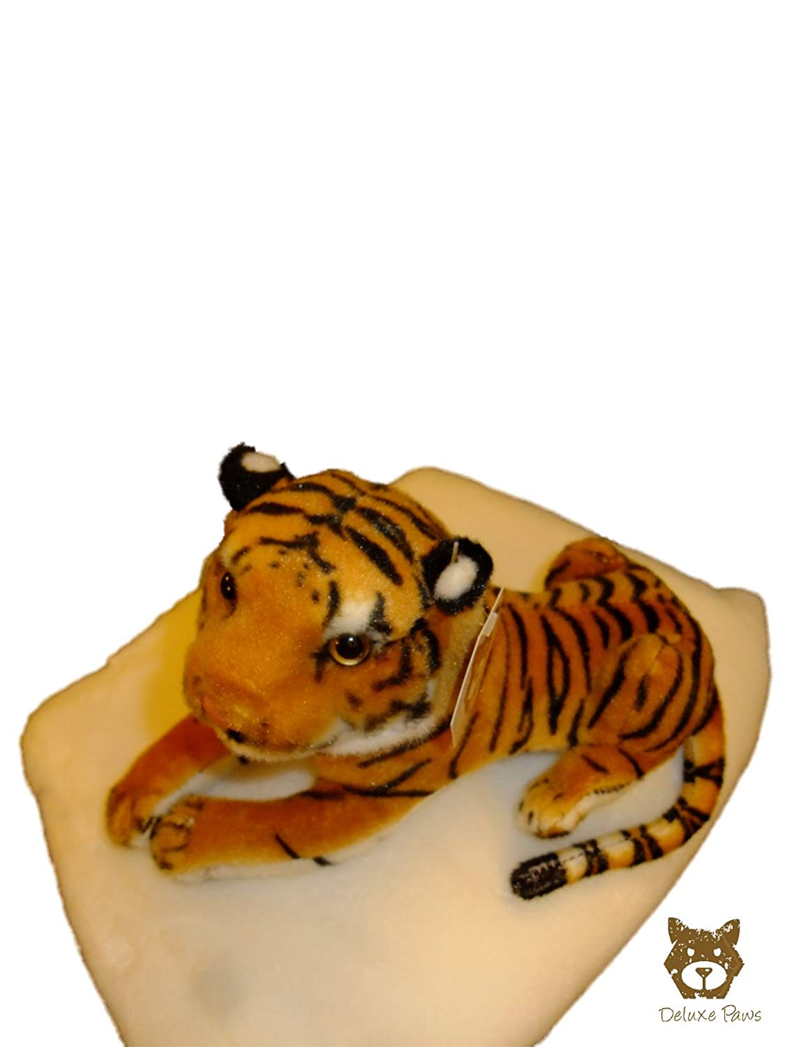 Small Baby Brown Tiger 30cm DELUXE PAWS ®