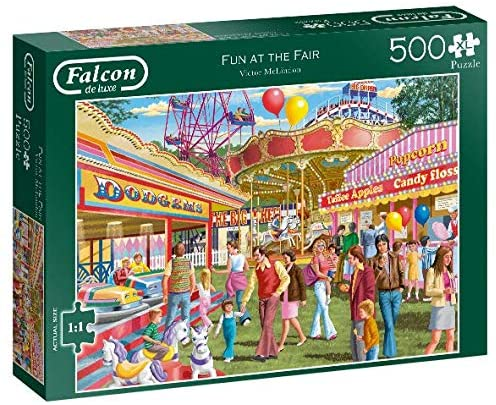 Jumbo 11251 Falcon de Luxe-Fun at The Fair 500XL Piece Jigsaw Puzzle