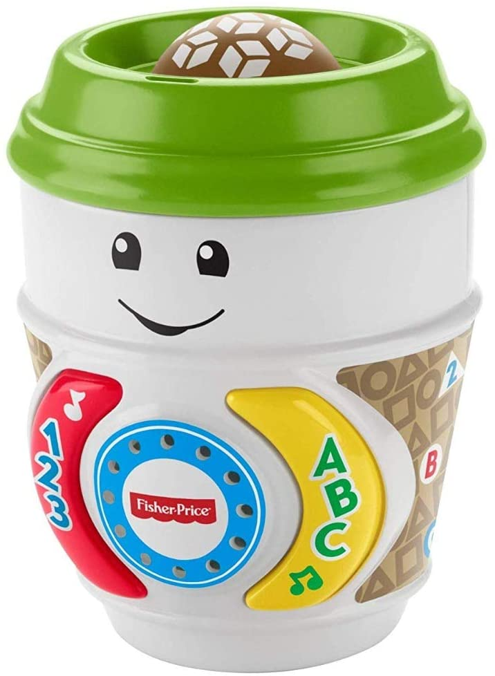 Fisher-Price On the Glow Coffee Cup Laugh & Learn Interactive Baby Toy