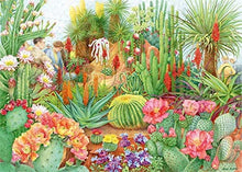 Jumbo 11254 pcs Falcon de luxe-The Flower Show 'Desert Plants' 1000 Piece Jigsaw Puzzle