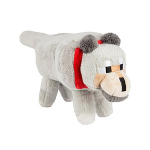 "Minecraft 15"" Plush Stuffed Animal: Wolf"
