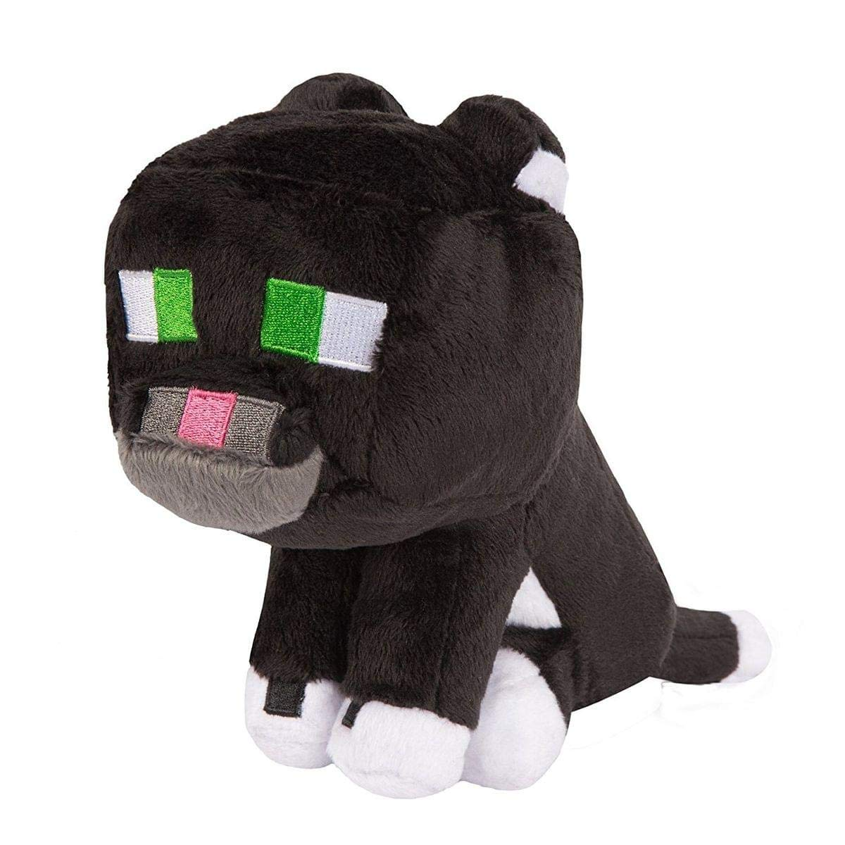 Minecraft 6363 8-Inch Tuxedo Cat Plush Toy
