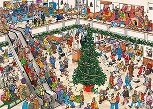 Jan van Haasteren – Holiday Shopping (2×1000 pieces)