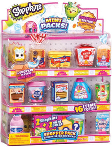 Box Damaged  -  Shopkins Mini Packs Shopper Pack Assortment