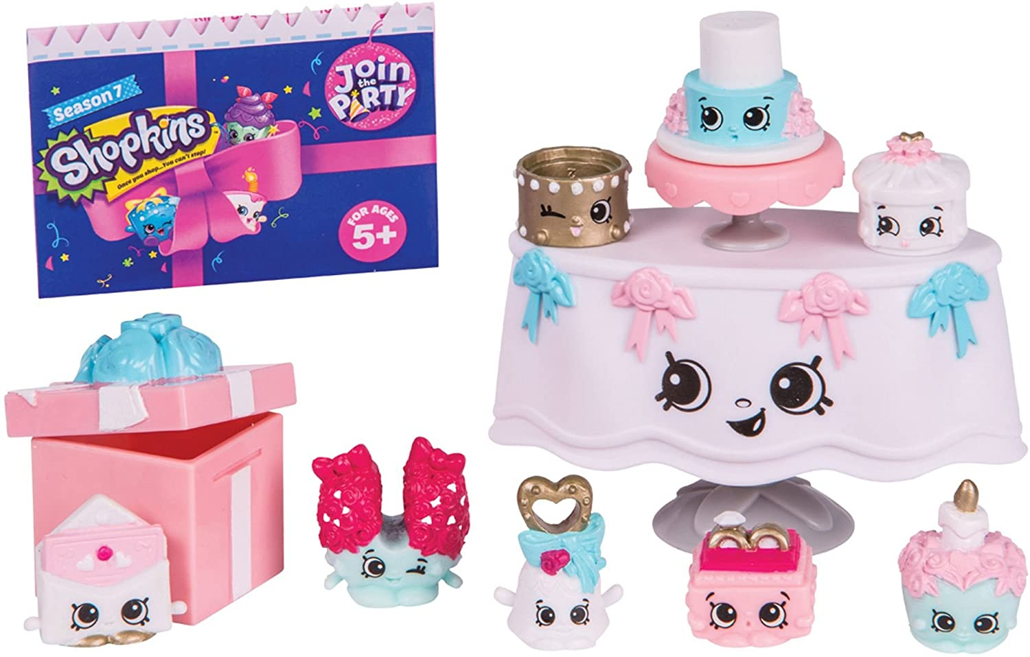 Shopkins HPK78201 Deluxe Wedding Party Collection Pack