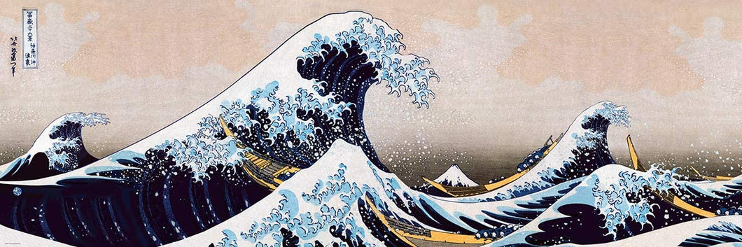 BOX DAMAGED-6010-5487 Eurographics Great Wave of Kanagawa 1000 Pieces