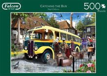 Jumbo 11260 Falcon de Luxe-Catching The Bus 500 Piece Jigsaw Puzzle
