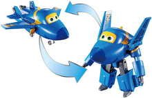 BOX DAMAGED - Super Wings - Transforming Vehicle Dizzy Jerome Donnie Albert 5 Inch Figure