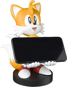 "Sonic the Hedgehog ""Tails"" Controller Phone Holder Charger - Cable Guys"