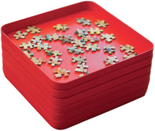 Jumbo Puzzle Mates Sorting Tray, Red