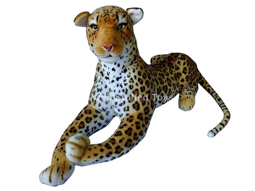 Deluxe Paws Extra Large Leopard Plush 160cm 62