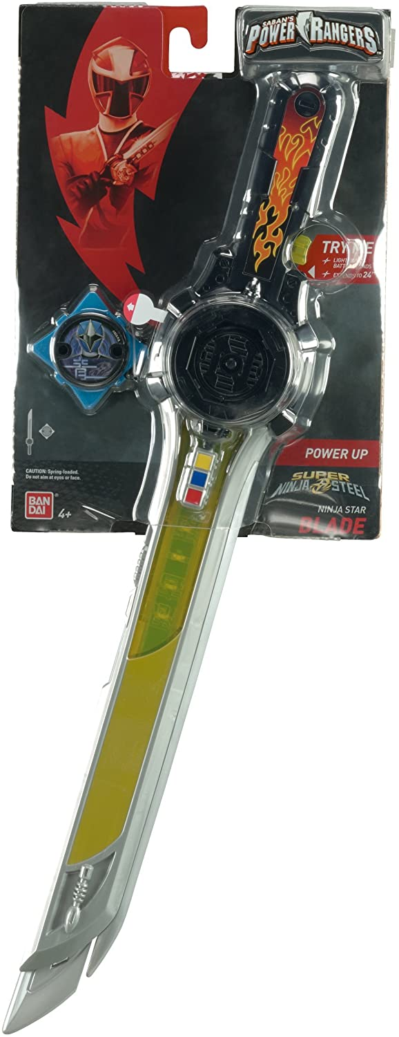 BOX DAMAGED - Power Rangers 43545 Ninja Steel Deluxe Battle Gear