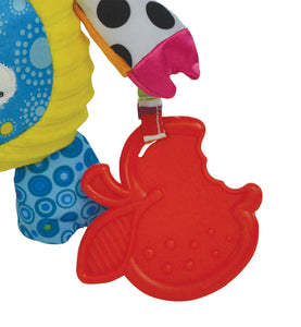 Lamaze Olly Oinker Clip On Pram and Pushchair Baby Toy