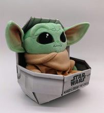 Box damaged -  Disney Simba 6315875779 Mandalorian The Child Baby Yoda 25 cm Plush Toy