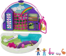 BOX DAMAGE - Polly Pocket GKJ65 Rainbow Dream Purse