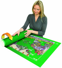 BOX DAMAGED - Jumbo Puzzle Mates Puzzle & Roll Jigroll for Puzzles up to 1500 Pieces, Multi