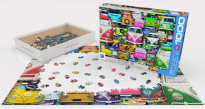 Eurographics EG60005423 Funky Jam Puzzle, Various, 1000