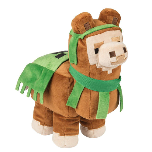 JINX 8153 Minecraft Llama Plush, Brown/Green