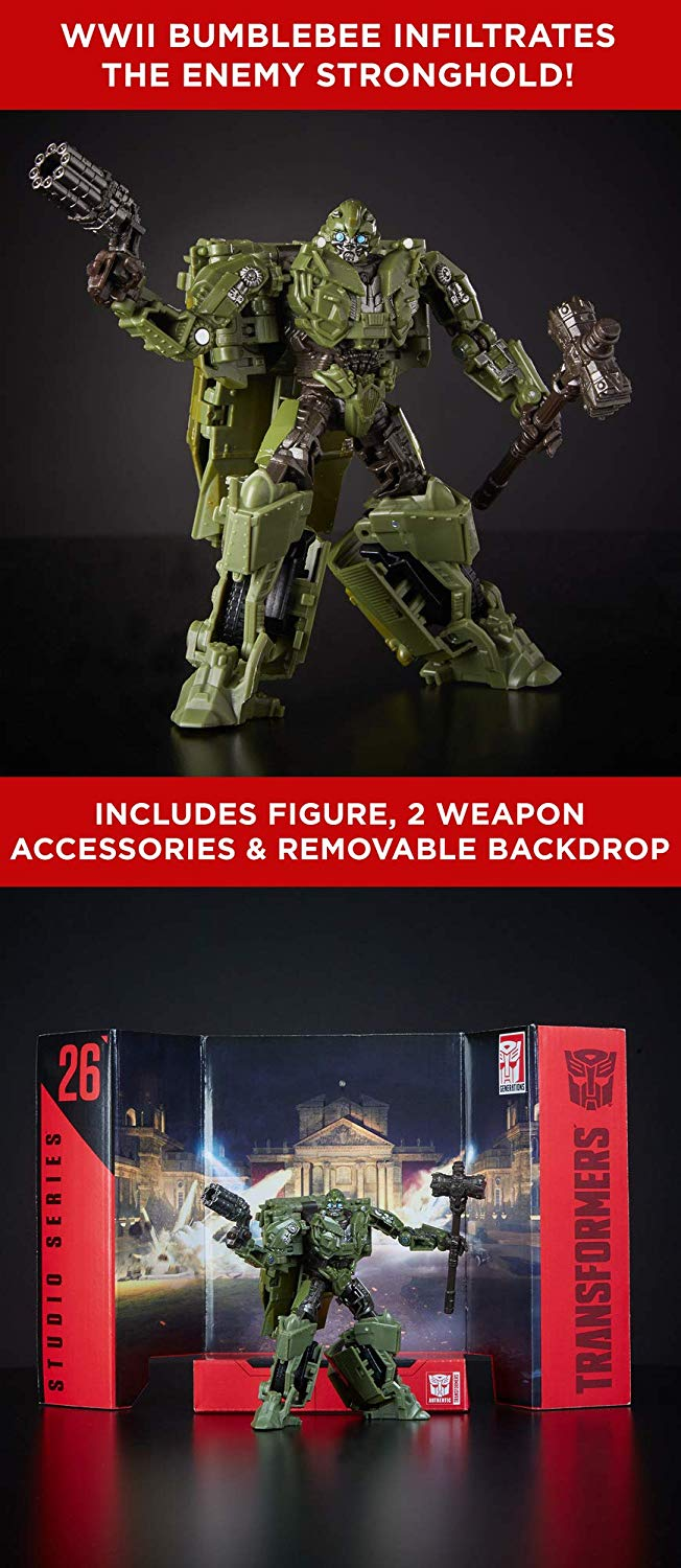 Bumblebee WWII Studio Series 26 Deluxe Action Figure