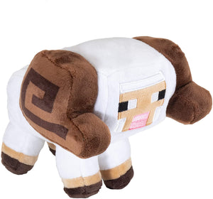 JINX Minecraft Earth Happy Explorer Horned Sheep Plush, multicoloured, 6 inches