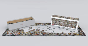 EuroGraphics 6010-0960 Sistine Chapel by Michelangelo Puzzle 1000 Piece