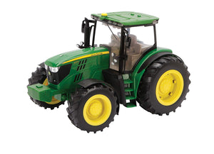 Britains Big Farm 1:16 John Deere 6210R Tractor With Realistic Lights and Sounds Farm Vehicle Toy Suitable From 3 years