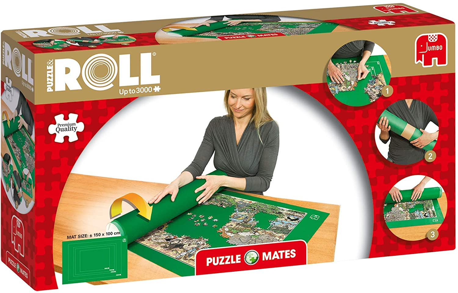 Puzzle Mates 17691 Puzzle and Roll Jigroll for up to 3000 Pieces