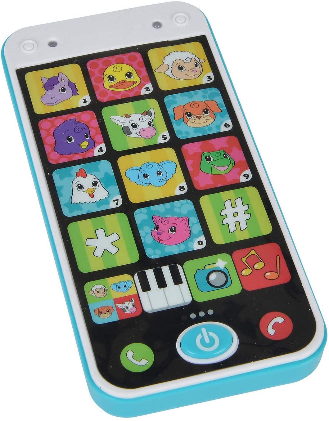 ABC 104010002 ABC Smart Phone Childs Toy 12-36 Months
