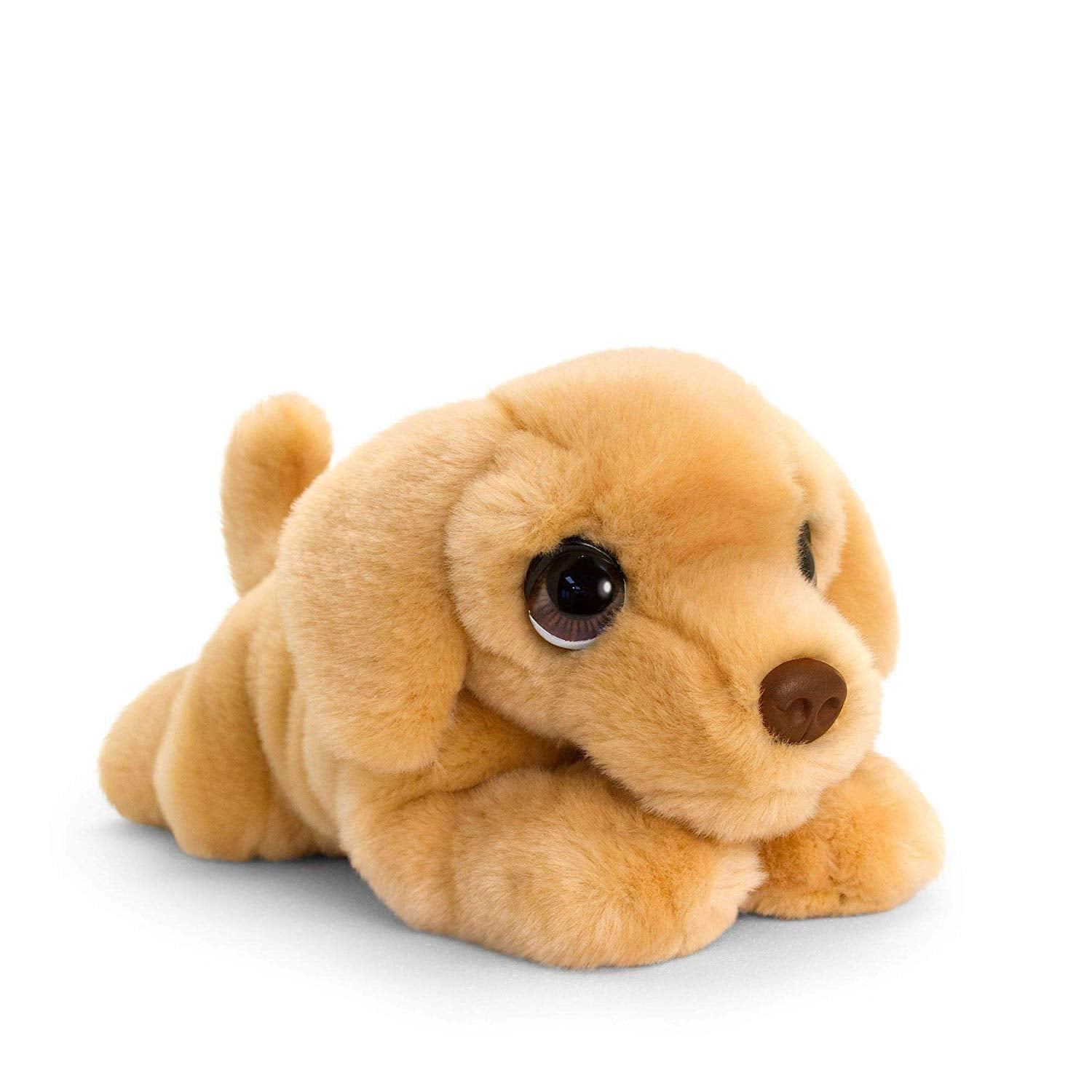 Keel Toys SD2529 Soft Toy Signature Cuddle Puppy Yellow Labrador  32cm