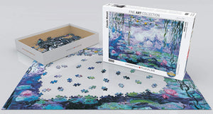 Eurographics Water Lilies 1000 Piece Jigsaw Puzzle