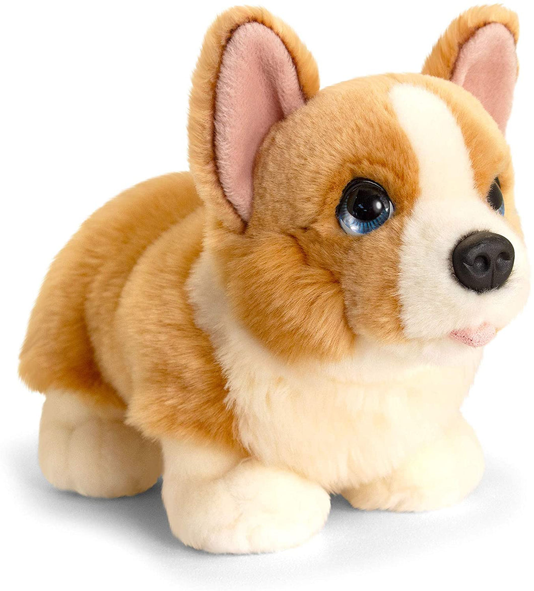 Keel Toys SD6243 32cm Signature Cuddle Puppy Standing Corgi, Multi