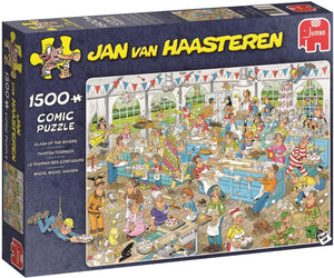 Jumbo 19077 Clash of The Bakers 1500 Piece Jigsaw Puzzle